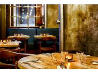 F/T SENIOR CHEF DE PARTIE REQ'D DARKHORSE RESTAURANT & BAR. EAST VILLAGE E20