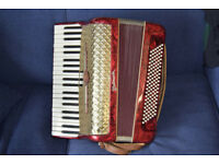 Accordion - Weltmeister full size.
