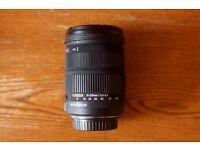 Sigma 18-200mm f/3.5-6.3 DC Macro OS HSM C Lens