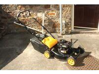 McCulloch M46-500C Push Petrol Lawnmower with Grass Box