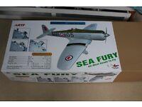 Sea Fury r/c model aircraft kit by Seagull Models