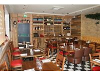 Busy Italian Restaurant looking for Head Chef and Chef De Partie