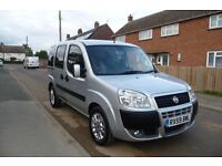Fiat Doblo Dynamic Wheelchair Accessible Vehicle.