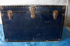 Large cabin trunk.