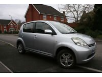 Daihatsu Sirion SE 1.3 - 2006 - New MOT - Sprightly, roomy, economical car in good condition.