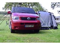 VW T5 Campervan for hire from £50/night
