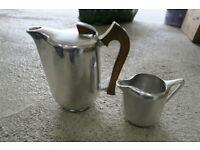 Picquot coffee pot and jug