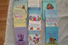 Set of 13 Sophie Kinsella Paperback Books