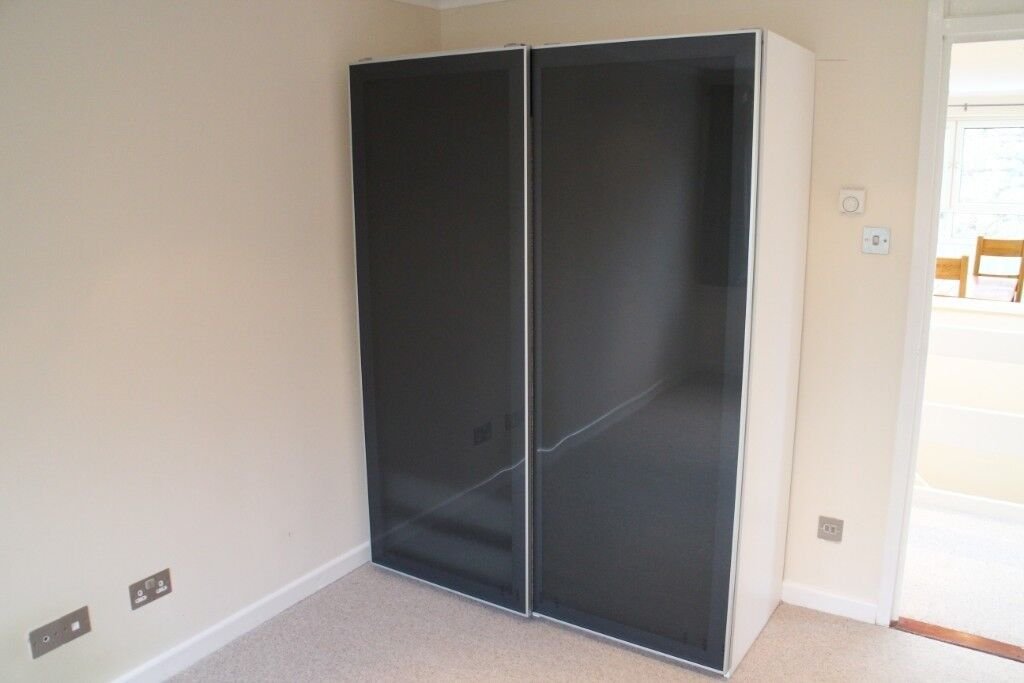 classic fit 1da65 da9bb EXCELLENT IKEA PAX WARDROBE -UGGDAL/GREY GLASS | in Teddington, London |  Gumtree