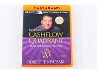 RICH DAD'S CASHFLOW QUADRANT - GUIDE TO FINANCIAL FREEDOM - AUDIOBOOK CD