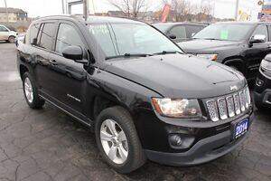 2014 Jeep Compass NORTH EDITION 4x4 LEATHER