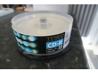 20 CD-R Discs - TESCO - Brand New - In Case