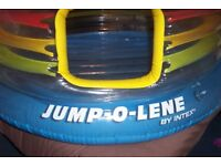 JUMP-O-LENE by INTEX, hours of fun.