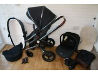 Silver Cross Special edition Surf Henley pram travel system 3 in 1 CAN POST