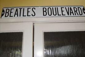 Unusual Present for Beatles Fan - Heavy Metal Plates - £25 each