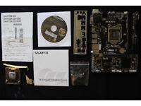 Gigabyte H110M-S2H Micro ATX LGA 1151 motherboard DDR4 Intel Skylake
