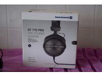 Beyerdynamic DT770 Pro Headphones - 80 Ohm- brand new