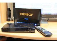 Openbox V8S satellite box 12 month gift