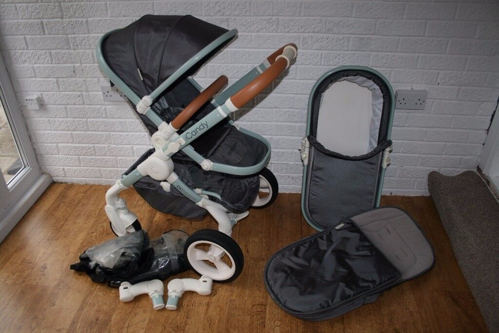 iCandy Peach DC Classic pram pushchair 2 in 1 CAN POST