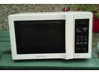 Daewoo KOR-6L6BD white microwave for sale