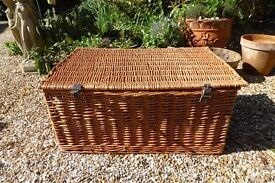 Large Wicker Basket For Sale