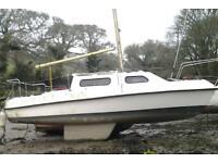 boat, 17foot sailing boat