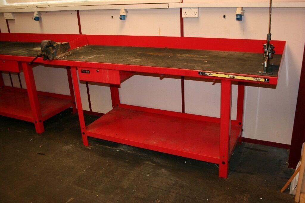 2 X Clarke Cwb2000b 3mm Steel Industrial Engineers Garage