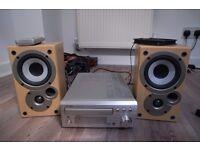 Denon UDM30 , Amplifer,+cd+am/fm Tuner. Plus original Denon/Mission SCM50 speakers. All working.