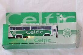 diecast celtic team coach new in box