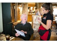 Part Time Bartender/ Waiter - Up to £7.50 per hour - Live Out - Wheelwrights - Goff's Oak - Herts
