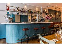 Part time bariata & runner for Italian restaurant in Kensington. Evenings only