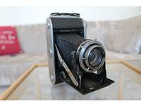 Ensign Selfix 820 Vintage Camera and Leather Case