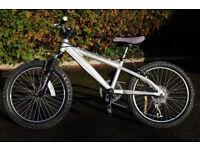 "Saracen Hoax Alloy Frame BMX Boys Bike, 20"" wheels, 6 gears. Front Suspension. - Fully working"