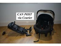 CAN POST Silvercross Silver Cross Car Seat and Isofix base - Pram Pushchair also for sale seperately