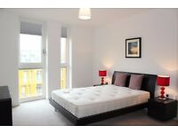 NEW MODERN 1 bed flat on 6th floor in North Greenwich with gym, concierge and balcony (canary wharf)