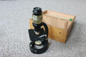 Antiques & Collectibles Vintage microscope C Baker