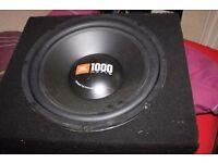 JBL 1000W Subwoofer