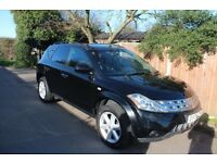 Nissan MURANO 4x4 3.5 auto cvt gearbox fully loaded leather,dvd sat nav x-trail x5 ml q7 navara