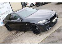 LATE 2012 BMW 520D MSPORT 181BHP SALOON *NIGHT EDITION SPEC* ( FINANCE & WARRANTY)