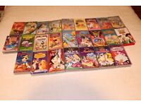 Disney VHS Tapes In VGC- Collection Of 25 Titles Inc Lion King, Aladdin, Jungle Book etc