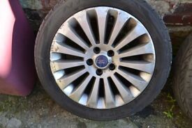4 x Ford 17'' Mondeo 2007 Alloy wheels and Tyres