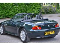 2000 BMW Z3 Roadster 2.8 - 17 000 miles from new. Stunning original classic. 3.0 2.2