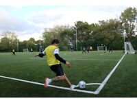 play football in clapham | fancy join us to our casual games ?