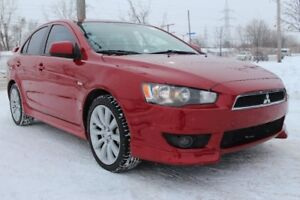 2009 Mitsubishi Lancer GTS, CUIR, TOIT OUVRANT, BLEUTOOTH, CONTR