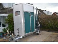 ifor williams double horse trailer aluminium floor