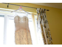 Size 8 Benjamin Roberts 2507 Wedding Dress (Ivory)
