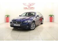 BMW 5 Series 2.0 520d EfficientDynamics 4dr (blue) 2013