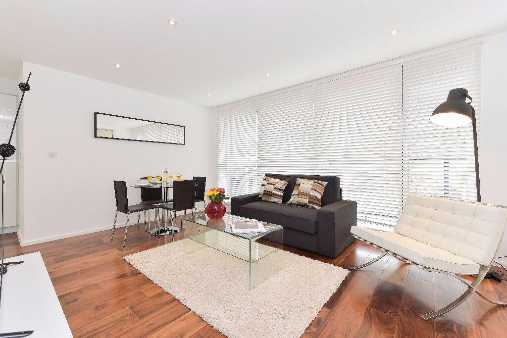2bed/1bath modern apartment is Tower Bridge area, fully furnished and Wifi included, 3 months min