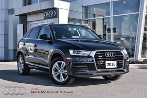 2016 Audi Q3 2.0T Progressiv (Loaner sale)