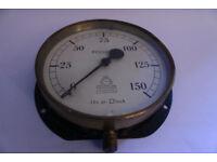 Hannan & Buchanan Glasgow - Pressure gauge Antique Instrument